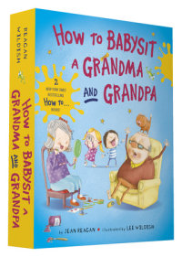 Book cover for How to Babysit a Grandma and Grandpa Board Book Boxed Set