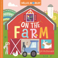 Book cover for Hello, World! On the Farm