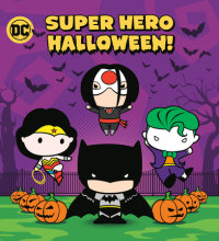 Cover of Super Hero Halloween! (DC Justice League)