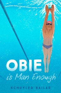 Cover of Obie Is Man Enough cover