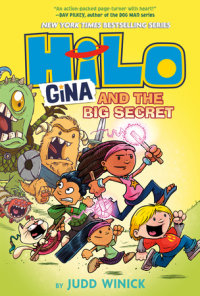 Book cover for Hilo Book 8: Gina and the Big Secret