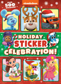 Book cover for Holiday Sticker Celebration! (Nickelodeon)