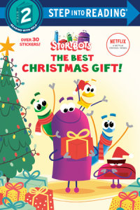 Book cover for The Best Christmas Gift! (StoryBots)