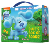 Book cover for Blue\'s Box of Books (Blue\'s Clues & You)