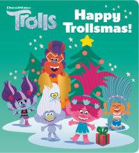 Book cover for Happy Trollsmas! (DreamWorks Trolls)