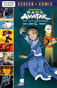 Book cover for Avatar: The Last Airbender: Volume 2 (Avatar: The Last Airbender)
