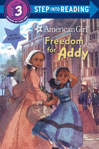 Book cover for Freedom for Addy (American Girl)