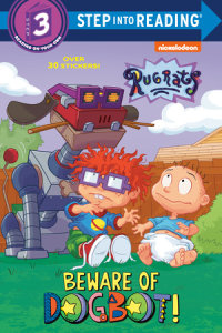 Book cover for Beware of Dogbot! (Rugrats)