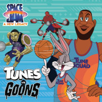 Cover of Tunes vs. Goons (Space Jam: A New Legacy) cover