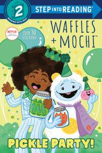 Book cover for Pickle Party! (Waffles + Mochi)