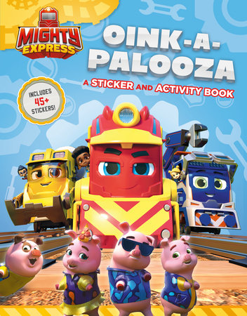 Oink-a-Palooza: A Sticker and Activity Book