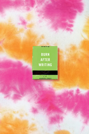 Burn After Writing (Tie-Dye)