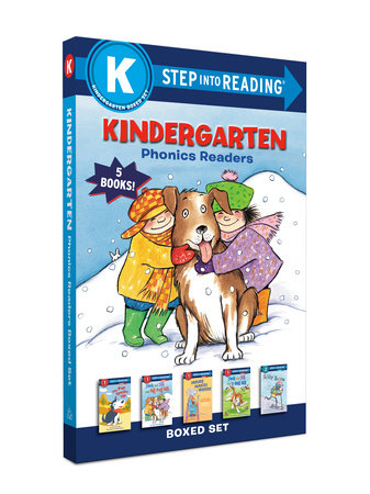 Kindergarten Phonics Readers Boxed Set