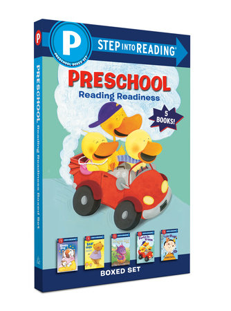 Preschool Reading Readiness Boxed Set