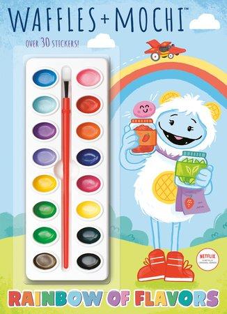 Rainbow of Flavors (Waffles + Mochi)