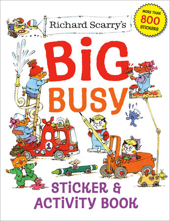 Richard Scarry's Big Busy Sticker