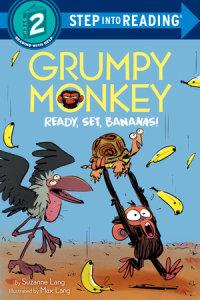 Book cover for Grumpy Monkey Ready, Set, Bananas!