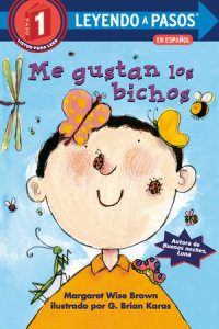 Book cover for Me gustan los bichos (I Like Bugs Spanish Edition)