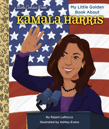 My Little Golden Book About Kamala Harris