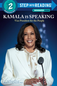 Cover of Kamala Is Speaking cover