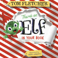Book cover for There\'s an Elf in Your Book