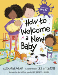 Book cover for How to Welcome a New Baby