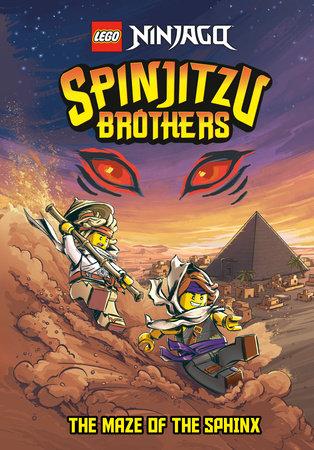 LEGO Spinjitzu Brothers Chapter Book #3 (LEGO Ninjago)