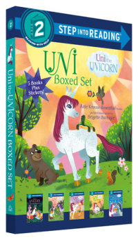 Book cover for Uni the Unicorn Step into Reading Boxed Set