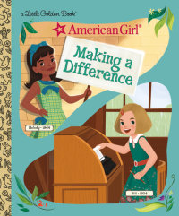 Book cover for Making a Difference (American Girl)