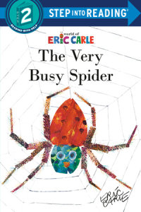 Book cover for The Very Busy Spider