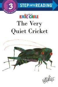 Book cover for The Very Quiet Cricket