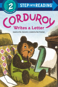 Cover of Corduroy Writes a Letter cover