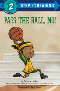 Book cover for Pass the Ball, Mo!