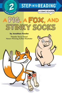 Book cover for A Pig, a Fox, and Stinky Socks