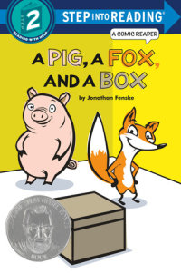 Book cover for A Pig, a Fox, and a Box