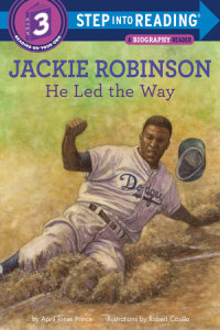 Book cover for Jackie Robinson: He Led the Way