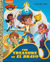 Cover of The Treasure of El Bravo (Santiago of the Seas)
