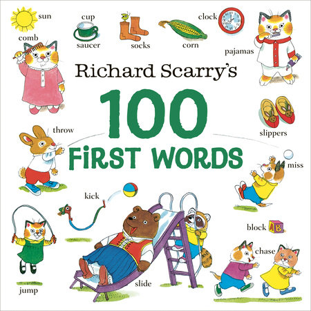 Richard Scarry's 100 First Words