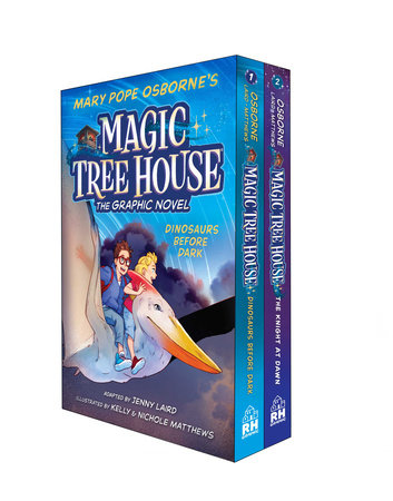 Magic Tree House Graphic Novels 1-2 Boxed Set