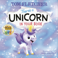 Book cover for There\'s a Unicorn in Your Book