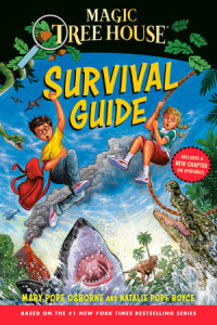 Cover of Magic Tree House Survival Guide cover