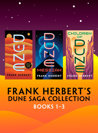 Frank Herbert's Dune Saga Collection: Books 1-3