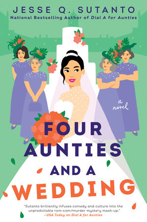 Cover image for Four Aunties and a Wedding