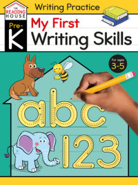 Book cover for My First Writing Skills (Pre-K Writing Workbook)