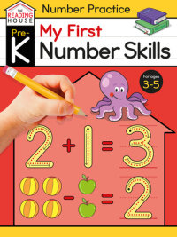 Book cover for My First Number Skills (Pre-K Number Workbook)