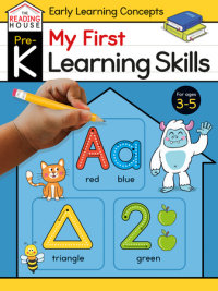 Book cover for My First Learning Skills (Pre-K Early Learning Concepts Workbook)