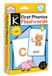 Book cover for First Phonics Flashcards
