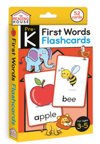 Book cover for First Words Flashcards