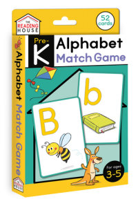 Book cover for Alphabet Match Game (Flashcards)