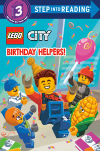 Book cover for Birthday Helpers! (LEGO City)